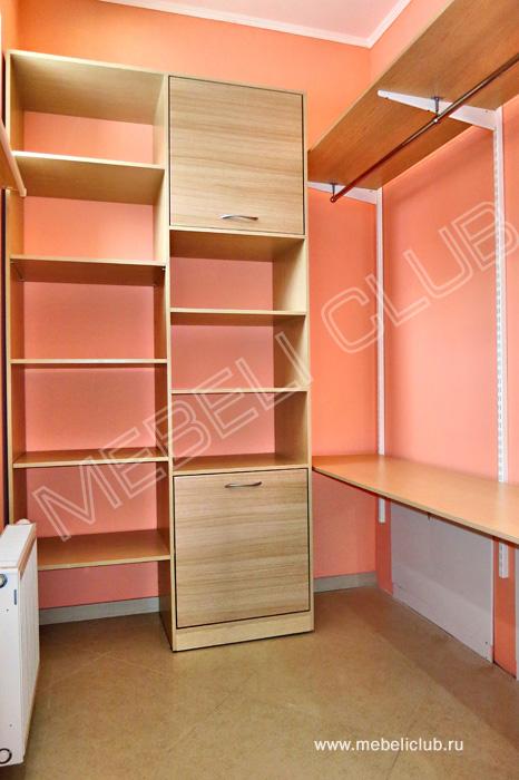 Гардеробная (портфолио) фото 15 мебеликлаб - производство ко.