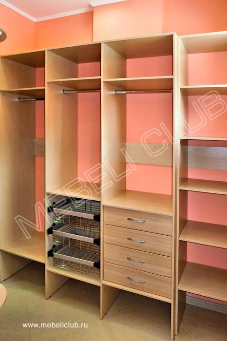 Гардеробная (портфолио) фото 22 мебеликлаб - производство ко.