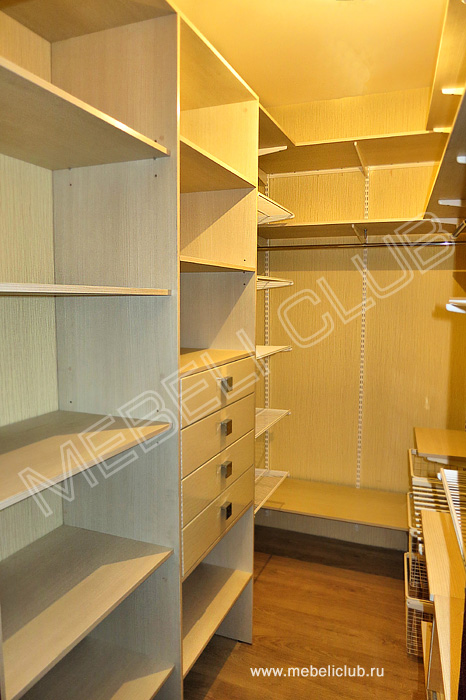Гардеробная (портфолио) фото 44 мебеликлаб - производство ко.